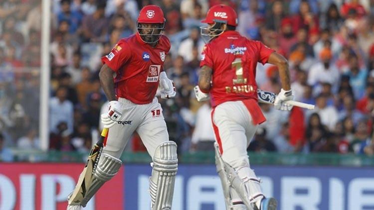 KL Rahul & Chris Gayle