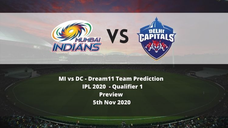 Dream11 IPL 2020: MI vs DC, Qualifier 1 Preview: Bowlers Key To Success, Delhi Aims to Enter Maiden Final
