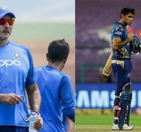 Australia vs India: Ravi Shastri Breaks His Silence On Suryakumar Yadav's Snub From India Squad