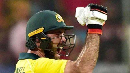 India vs Australia: Dangerous Looking Glenn Maxwell Departs, Scores 41 Runs Off 19 balls