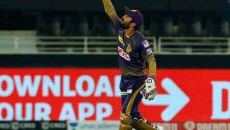 Watch: Dinesh Karthik Takes A World-Class Catch To Dismiss Rajasthan Royals Opener Ben Stokes