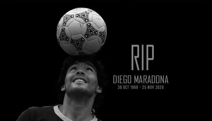 Sourav Ganguly, Sachin Tendulkar, And Others Share Their Grief Over The Demise Of Diego Maradona