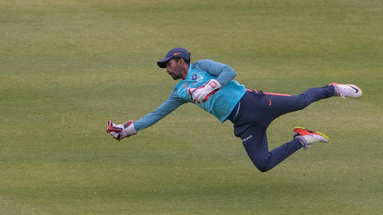 Wriddhiman Saha Is Back In Nets, BCCI Shares A Clip
