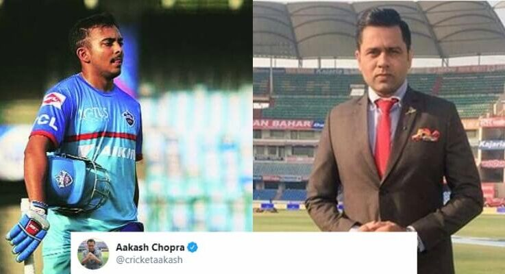 """""""My Way Or The Highway,""""- Aakash Chopra Slams Rishabh Pant And Prithvi Shaw For Poor Show In IPL 2020"""