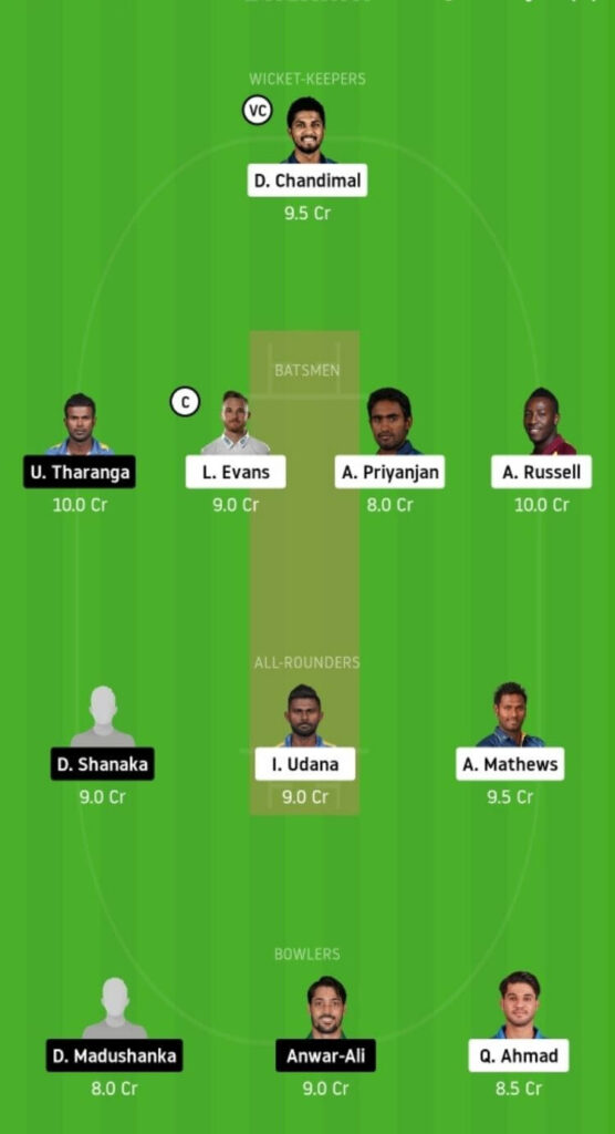 CK vs DV Dream11 Team Prediction _ Match 7 _ Lanka Premier League T20 _ 1st DEC 2020 Grand League
