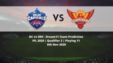 DC vs SRH Dream11 Team Prediction | IPL 2020 | Qualifier 2 | Playing 11 | 8th Nov 2020