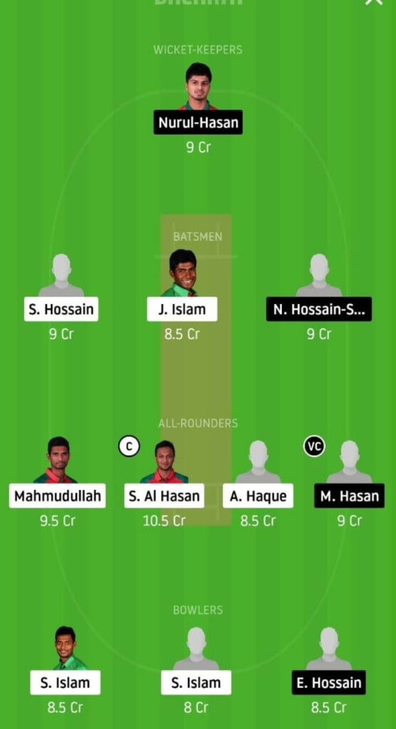 GKH vs MRA Dream11 Team Prediction | Match 3 | Bangladesh T20 | 26th Nov 2020 Head to Head