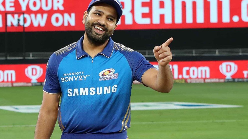 'Mamu Inki Ganit Weak hai,'- Rohit Sharma Posts Hilarious Message After Winning IPL 2020