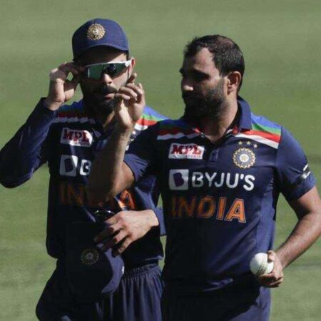 India vs Australia: Mohammed Shami Dismiss David Warner On A Peach Of A Delivery, India Gets 1st wicket