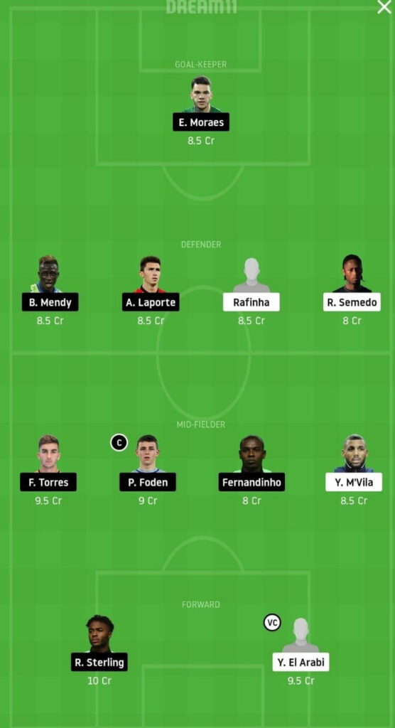 OLY vs MCI Dream11 Match Prediction _ Football Fantasy _ UEFA Champions League _ 25 Nov Grand League