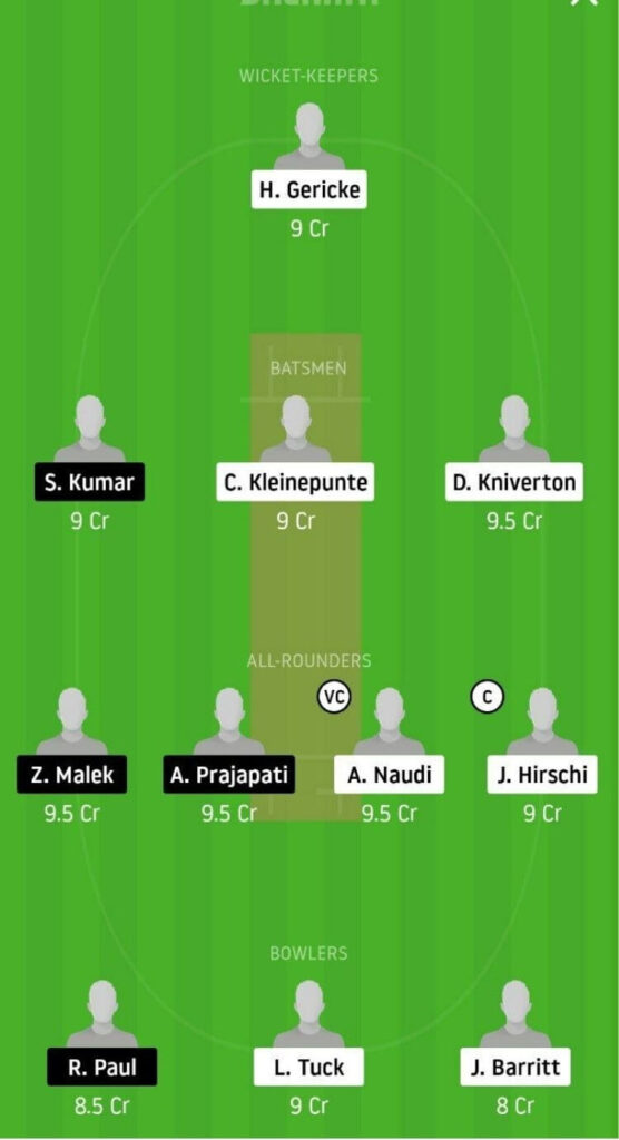 OVR vs AUM Dream11 Team Prediction _ Match 20 _ ECS T10 Malta _ 1st Dec 2020 grand league