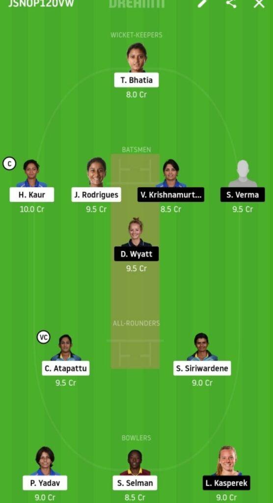SUP vs VEL Dream11 Team Prediction   Women's T20 Challenge   Match 1   4th Nov 2020
