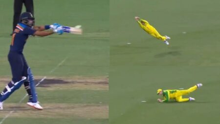 Watch: 'What A Screamer,'- Steve Smith Takes A World-Class Catch To Dismiss Shreyas Iyer In 2nd ODI
