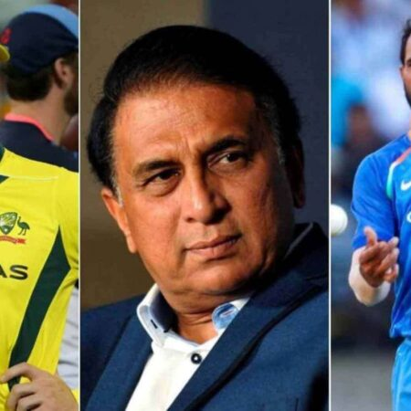 "IND vs AUS: ""Shami Will Not Be Easy To Play""- Sunil Gavaskar Gives A Fitting Reply To Steve Smith"