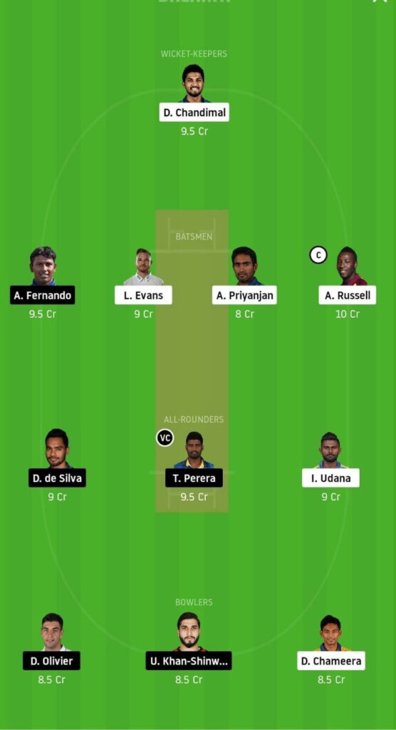 CK vs JS Dream11 Team Prediction _ Match 11 _ Lanka Premier League T20 _ 4th Dec 2020 Head to Head