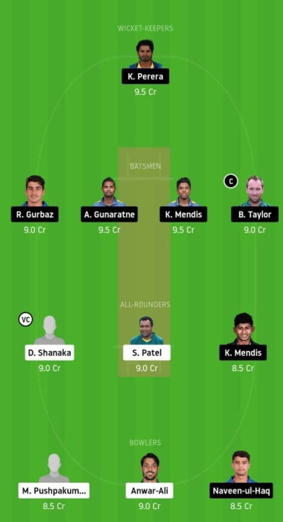 DV vs KT Dream11 Team Prediction _ Match 10 _ Lanka Premier League T20 _ 3rd Dec 2020 Head to Head