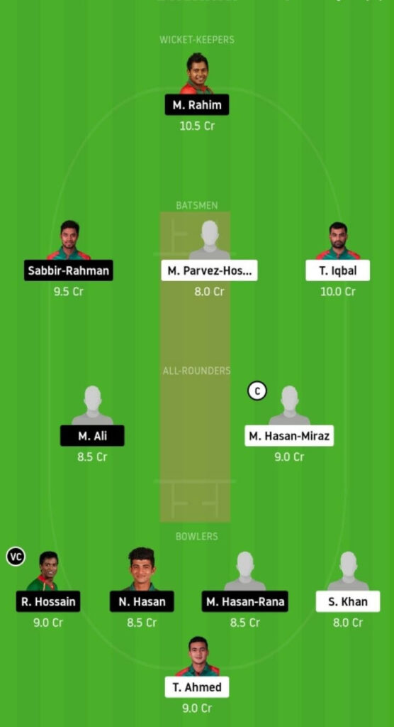 FBA vs BDH Dream11 Team Prediction _ Match 9 _ Bangladesh T20 _ 2 Dec 2020 Grand League