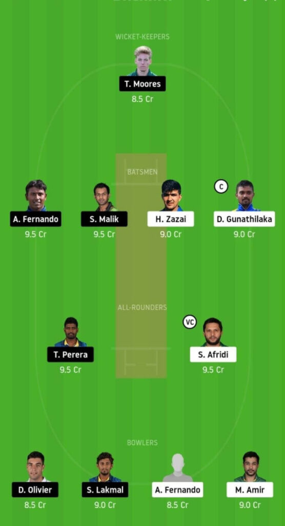 GG vs JS Dream11 Team Prediction | Match 9 | Lanka Premier League T20 | 3rd Dec 2020 Head to Head