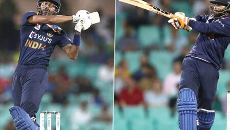 Hardik Pandya And Ravindra Jadeja Guides Team India To A Respectable Total In 3rd ODI Against Australia