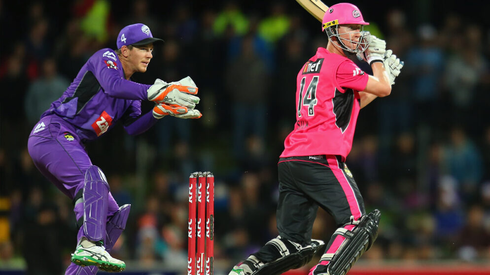 BBL 2020-21: BBL Gets Off The Mark With Bat Flip Toss Between Hobart Hurricanes And Sydney Sixers