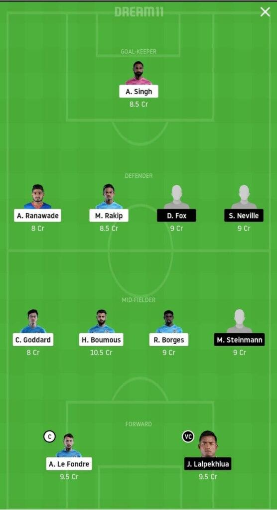 MCFC vs SCEB Dream11 Match Prediction _ Football Fantasy _ India Super League _ 1st Dec 2020 Grand League