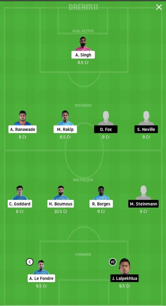 MCFC vs SCEB Dream11 Match Prediction _ Football Fantasy _ India Super League _ 1st Dec 2020 Grand League
