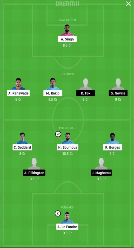 MCFC vs SCEB Dream11 Match Prediction _ Football Fantasy _ India Super League _ 1st Dec 2020 Head to Head