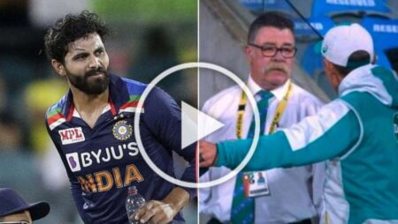 Watch: Justin Langer Angry As Yuzvendra Chahal Takes The Field As Concussion Sub For Ravindra Jadeja In 1st T20I