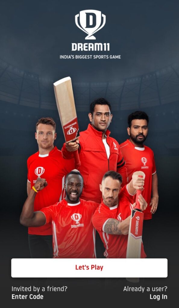 Register on Dream11