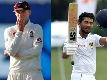WATCH: Joe Root Sledges, Dinesh Chandimal Throws His Wicket Away On The Very Next Ball