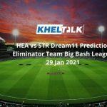 HEA vs STR Dream11