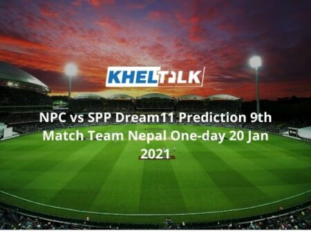NPC vs SPP Dream11 Prediction 9th Match Team Nepal One-day 20 Jan 2021
