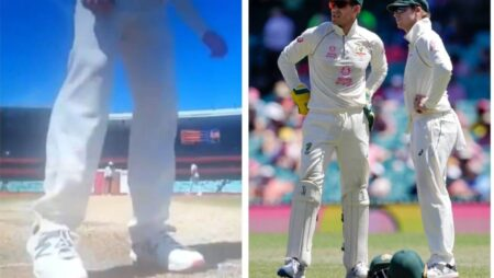 WATCH: Steve Smith Recorded Scuffing Rishabh Pant's Guard Mark At SCG