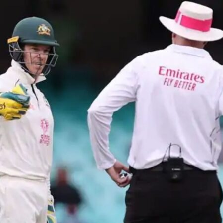 WATCH: Tim Paine Calls R Ashwin 'd**khead', Stump Mic Catches His Voice, Clip Gets Viral On Social Media