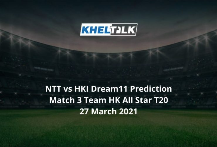 NTT vs HKI Dream11