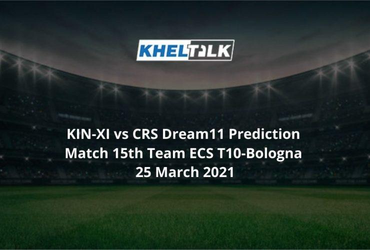KIN-XI vs CRS Dream11 Predictio