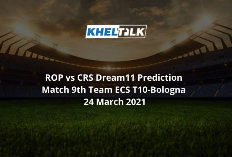 OP vs CRS Dream11 Prediction