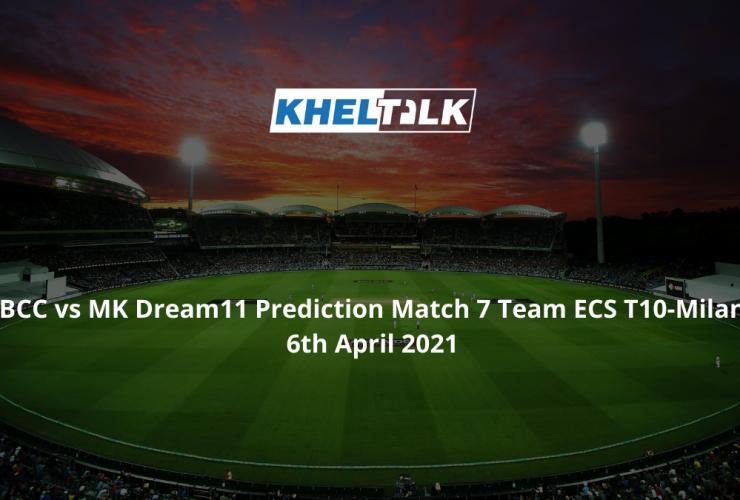 BCC vs MK Dream11 Prediction