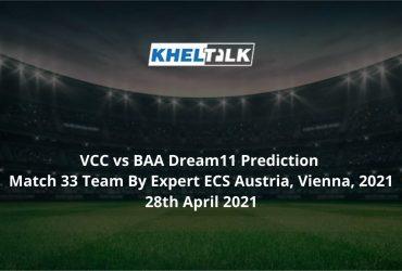 VCC vs BAA Dream11 Prediction Matc