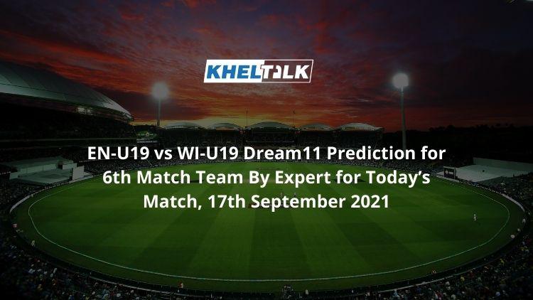 EN-U19-vs-WI-U19-Dream11-Prediction