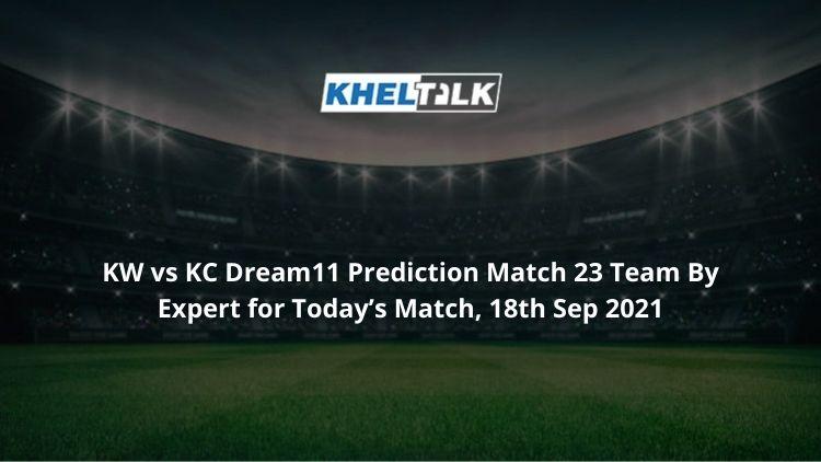 KW-vs-KC-Dream11-Prediction