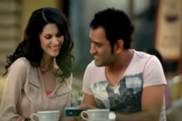 MS Dhoni Aircel
