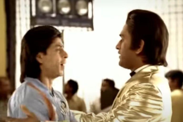 MS Dhoni Shahrukh Khan