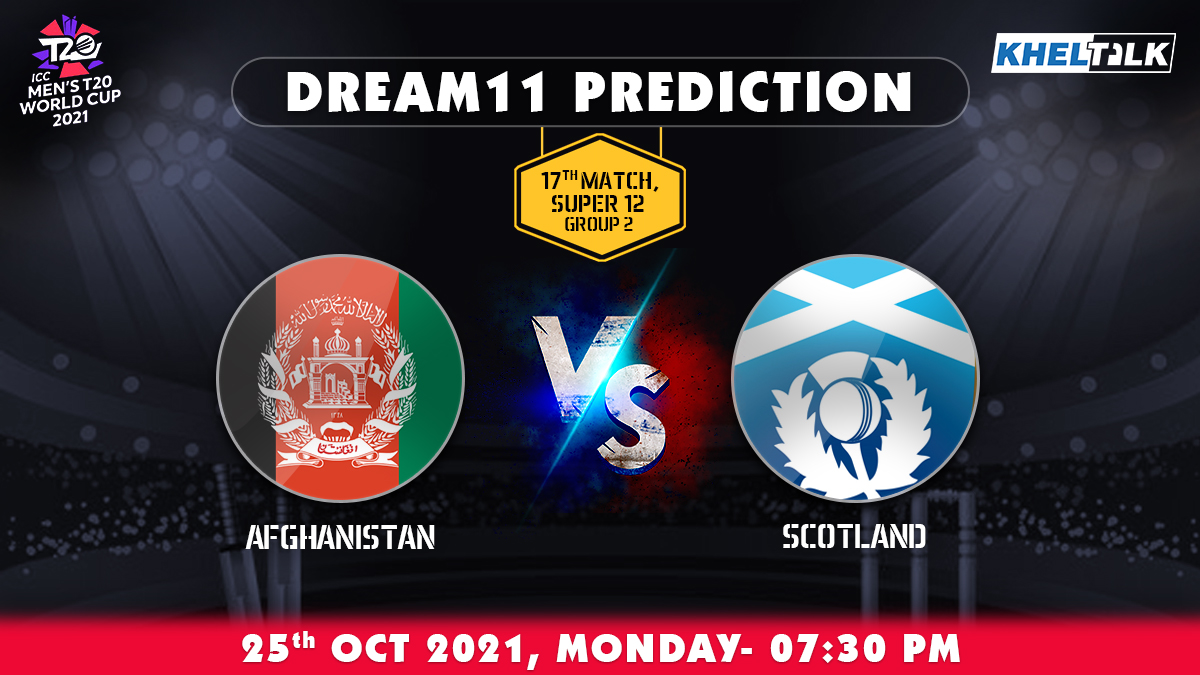 AFG vs SCO Dream11 Prediction