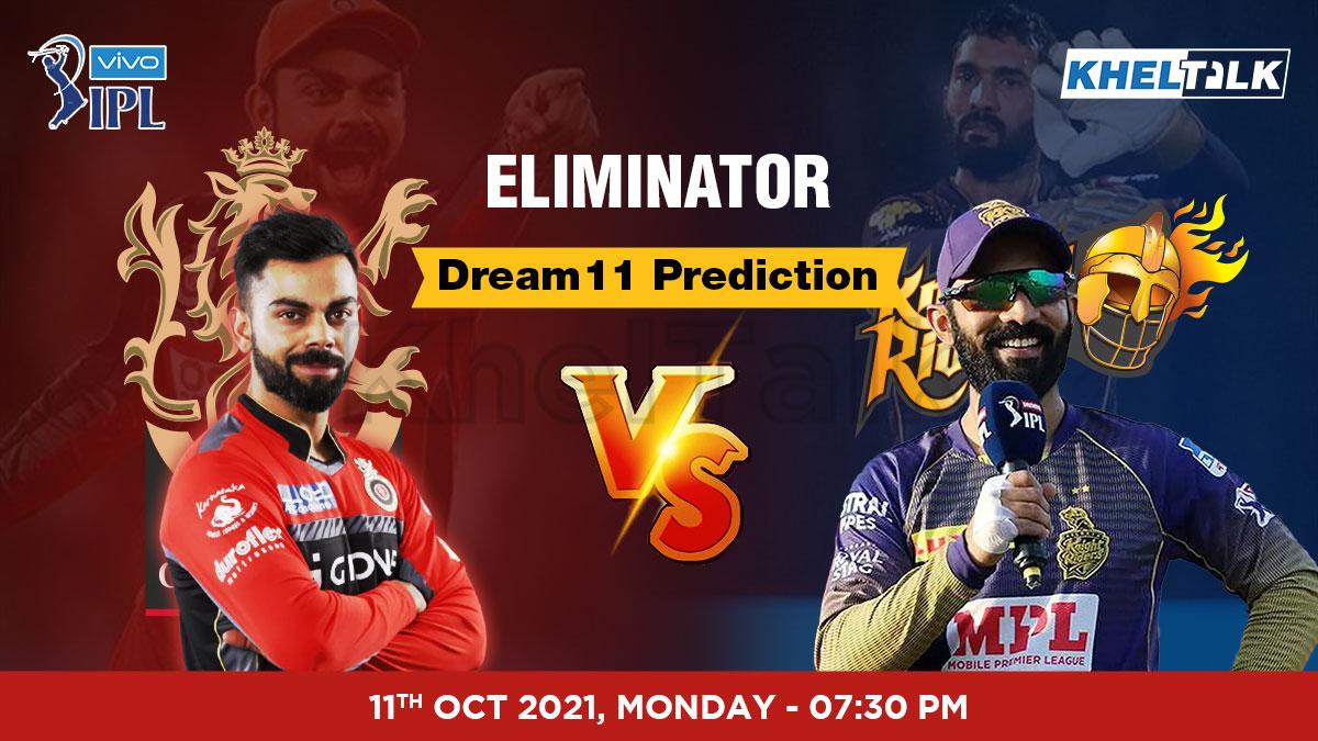 RCB vs KKR IPL 2021 Dream11 Prediction