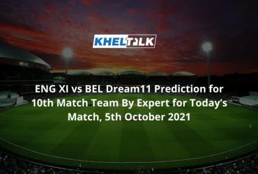 ENG XI vs BEL Dream11 Prediction