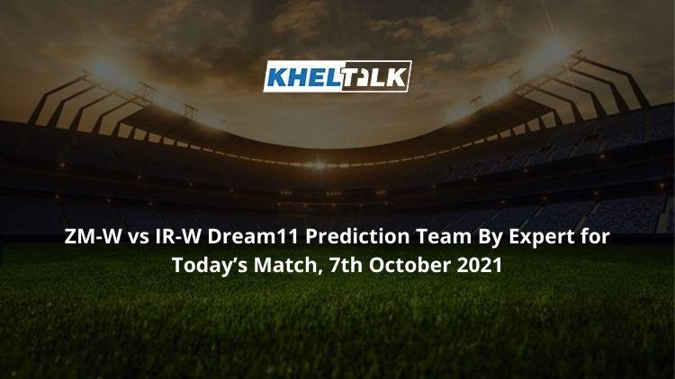 ZM-W-vs-IR-W-Dream11-Prediction